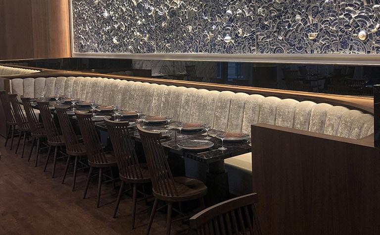 Concept Genesys: meubles pour commerce et restaurants